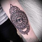 mandala tatouage sur son avant-bras - par exemple Photo du tatouage fini sur 01052016 1