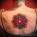 mandala tattoo color - Photo example of the finished tattoo on 01052016 1