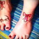 seine Füße beugt Tätowierung auf - Foto Beispiel des fertigen Tätowierung 02052016 1