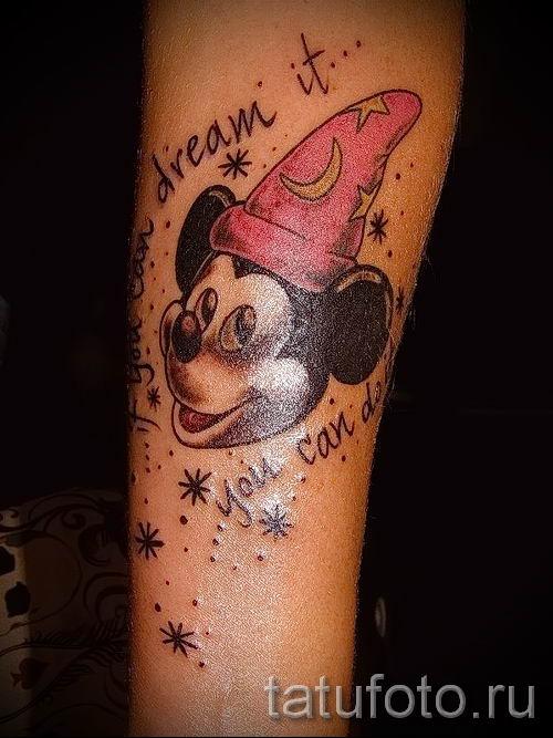 tatouage Mickey Mouse sur la main - tatouage fini sur 16052016 3