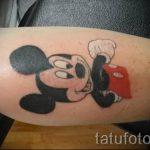 tatouage Mickey Mouse sur son poignet - tatouage fini sur 16052016 2