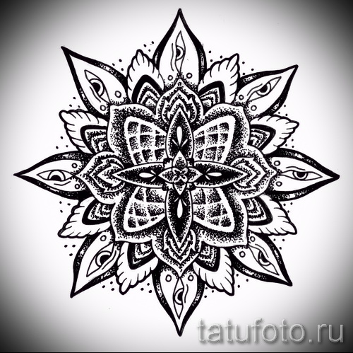 Tatouage Mandala Conçoit Sur La Main Dessin Tatouage Sur