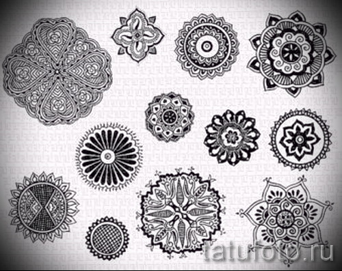 Tatouage Mandala Conçoit Sur Le Poignet Dessin Tatouage