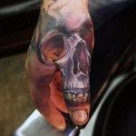 tatouages pour les gars sur la main - par exemple photo 2
