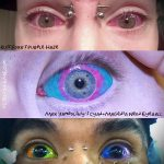 tattoo on the eyes as a make - an example of the photograph of 22052016 1