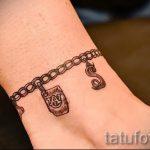tattoo on the foot bracelet 3