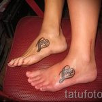 tattoo on the foot twin 1