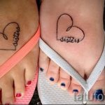 tattoo on the foot twin 2