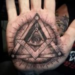 tattoo on the inside of the hand for a guy 1