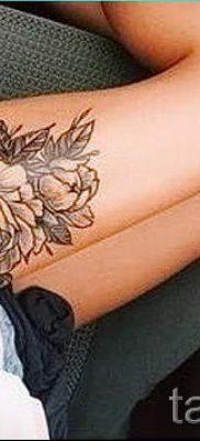 valeur pivoine tatouages pour les filles – par exemple Photo du tatouage 15052016 2