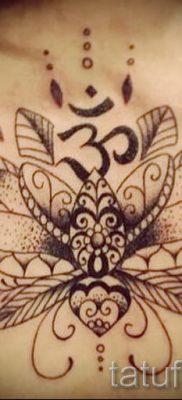 value lotus tattoo girl 1