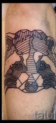 Тату енот – фото готовой татуировки для материала про значение 35