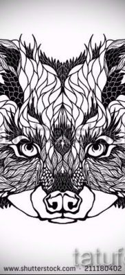 Тату енот – фото готовой татуировки для материала про значение 40