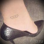 маленькие тату на лодыжке - классные фото готовой татуировки 4