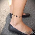 тату звезды на лодыжке - классные фото готовой татуировки 18