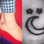 тату звезды на лодыжке - классные фото готовой татуировки 3