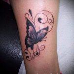 тату на лодыжке для девушек - классные фото готовой татуировки 1