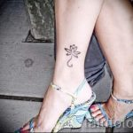 Ankle Tattoo Designs For Girls