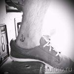 тату на лодыжке мужские - классные фото готовой татуировки 14