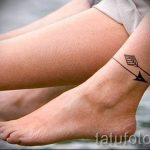 тату на лодыжке мужские - классные фото готовой татуировки 4