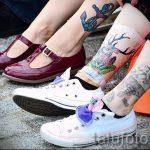 тату на лодыжке мужские - классные фото готовой татуировки 6