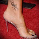 тату на лодыжке скорпион - классные фото готовой татуировки 2