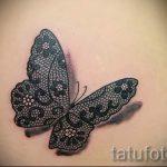 тату узоры кружево - фото пример готовой татуировки 7
