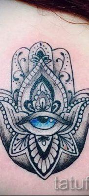 тату хамса – фото пример для статьи про значение татуировки 1