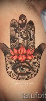тату хамса – фото пример для статьи про значение татуировки 15