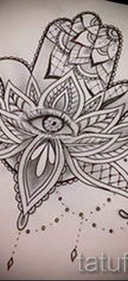 тату хамса – фото пример для статьи про значение татуировки 2