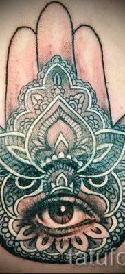 тату хамса – фото пример для статьи про значение татуировки 29