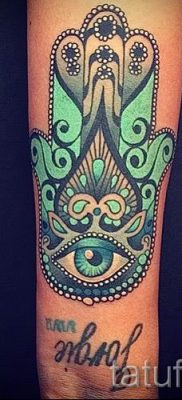 тату хамса – фото пример для статьи про значение татуировки 4