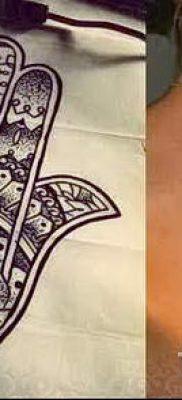 тату хамса – фото пример для статьи про значение татуировки 40