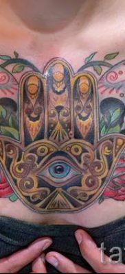 тату хамса – фото пример для статьи про значение татуировки 41