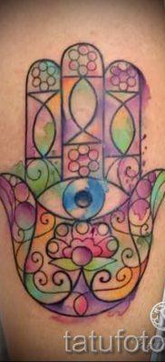 тату хамса – фото пример для статьи про значение татуировки 42