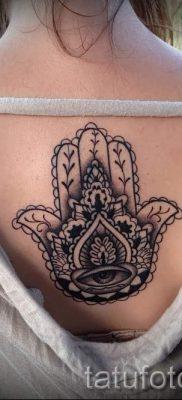 тату хамса – фото пример для статьи про значение татуировки 46