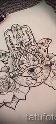 тату хамса – фото пример для статьи про значение татуировки 5