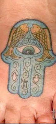 тату хамса – фото пример для статьи про значение татуировки 52