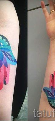 тату хамса – фото пример для статьи про значение татуировки 54
