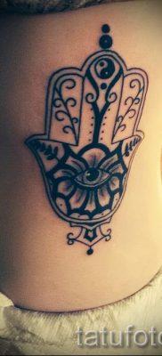 тату хамса – фото пример для статьи про значение татуировки 55