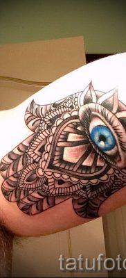 тату хамса – фото пример для статьи про значение татуировки 56