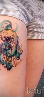 тату хамса – фото пример для статьи про значение татуировки 59