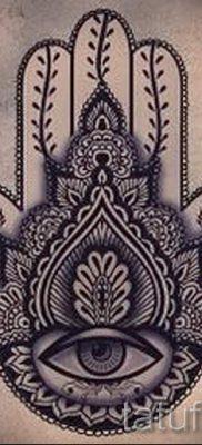 тату хамса – фото пример для статьи про значение татуировки 6
