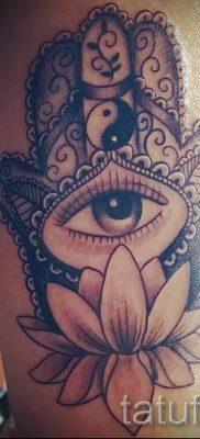тату хамса – фото пример для статьи про значение татуировки 78