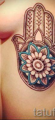 тату хамса – фото пример для статьи про значение татуировки 8