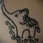 тату хной на лодыжке фото - классные фото готовой татуировки 10