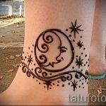 тату хной на лодыжке фото - классные фото готовой татуировки 6