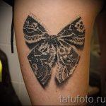 Tattoo-Spitzen-Bogen - Foto Beispiel des fertigen Tätowierung 11