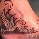 beautiful tattoo on ankle women - cool photo of the finished tattoo 1