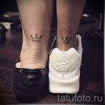 tattoo on her ankle crown 2